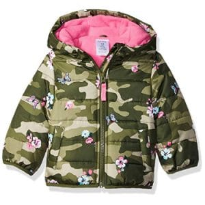 Carter's Girls Fleece Lined Puffer Jacket