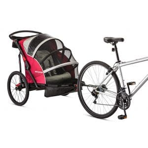 Joyrider Double Bike Trailer from Schwinn