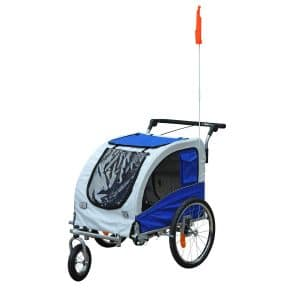Aosom Elite II Stroller Jogger Pet Bicycle Trailer