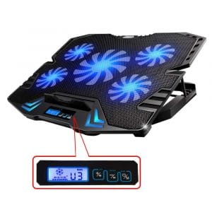 TopMate TM-3 Five Quiet Fans Laptop Cooler