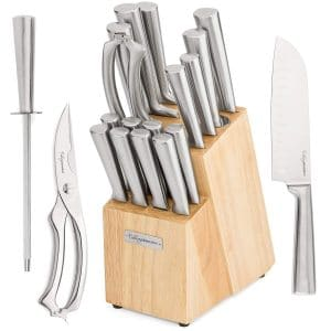 Culinary Obsession 17-Piece Chef kitchen Knife Sets