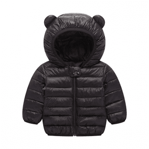 BSC007 Baby Boys Girls Winter Coats Hood Puffer Jacket