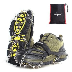 Unigear 18 Spikes Traction Ice Cleats