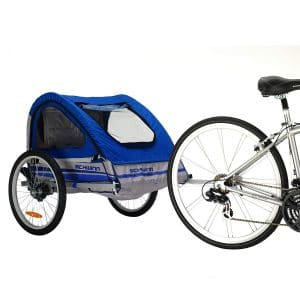 Pacific Cycle Trailblazer Schwinn Double Bike Trailer