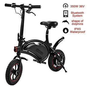 Shaofu Folding Electric Waterproof Collapsible Bike