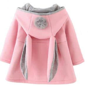 Favorland Baby Girl's Toddler Kid's Fall Hood Hoodie