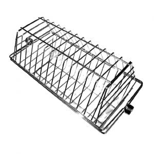 OneGrill BBQ Products Stainless Steel Hexagon Grill Rotisserie Basket