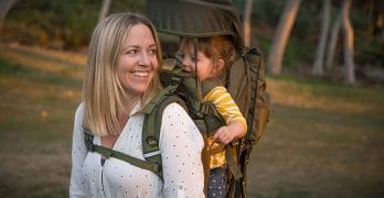 Be Mindful Retro Scout Baby Carrier Backpack