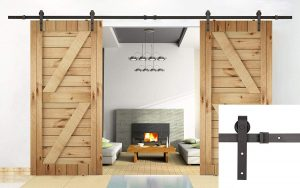 Double Sliding Barn Doors