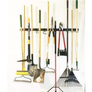 FITOOL Adjustable Storage System Wall Mount Tool Organizer