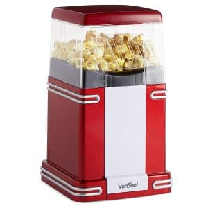 VonShef Retro Popcorn Maker Machine
