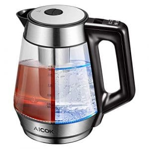Aicok Electric Kettle Glass Water Boiler