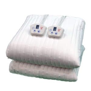 Electrowarmth Two Controls Heated Mattress Pad