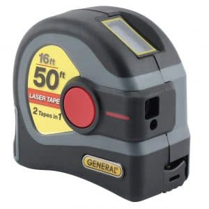 General Tools LTM1 LCD Digital Tape Measure