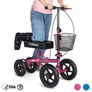 OasisSpace All Terrain Knee Scooter