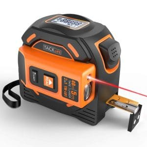 TACKLIFE Laser Tape Measure