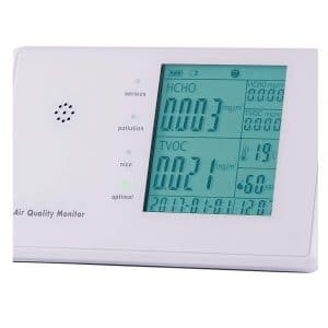 6 in 1 Multifunctional Indoor Air Quality Monitor