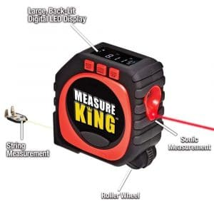 Measure King 3-in-1 Digital LED Tape Measure