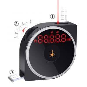 Electop Laser Digital Tape Measure