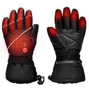 Upgraded Heated Gloves Electric Ski Motorcycle Gloves