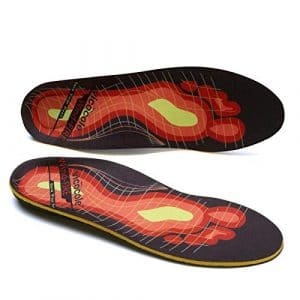 VOCOFA Caresole Pinnacle Orthotic Plantar Fasciitis Insoles