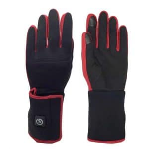 Heated Glove Liners, 7.4V Heating Liners Women Hand Warmer