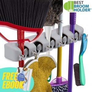 Best Broom Holder Broom and Mop Holder Wall Mount