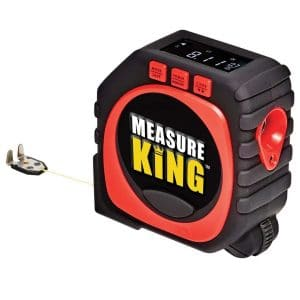 Minzhi Measure King 3-in-1 Digital Tape Measure