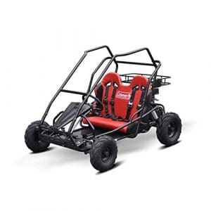 Coleman Powersports Gas-Powered Off-Road Car Go Kart