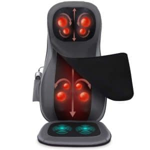 Naipo shiatsu massage chair pad