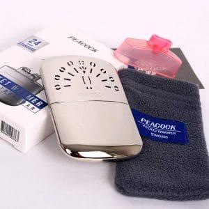 Peacock Hakkin Standard Hand Warmer