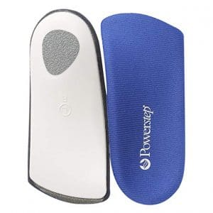 Powerstep SlimTech All Sizes 3/4 Length Orthopedic Foot Insoles