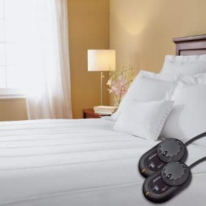 Sunbeam Quilted Heated Electric Mattress Pad