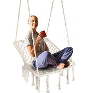 KINDEN Hammock Swing Macrame Chair
