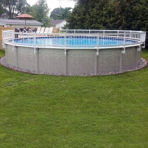 Vinyl Works Pool Fence