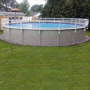 Vinyl Works Pool Fence