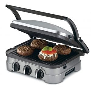 Cuisinart GRID-8NPC Countertop 5-in-1 Panini Griddler