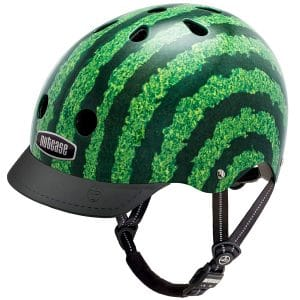 Nutcase Patterned Street Helmet Watermelon