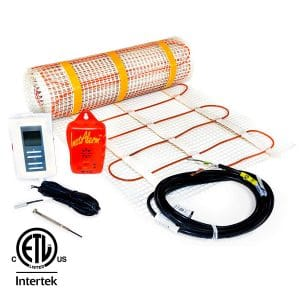 89 sq.ft. 120-Volt. Ceramic & Stone Tile Electric Floor Heating Kit