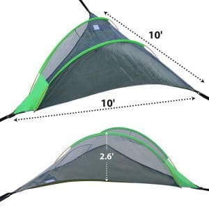 BenefitUSA Hanging Camping Tent with a Mosquito Net