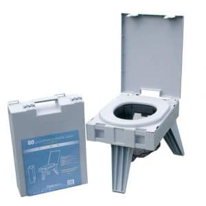Cleanwaste Portable Toilet w/ Waste Kit