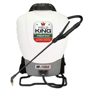 Field King 190515 Battery Powered Professionals Backpack Sprayer