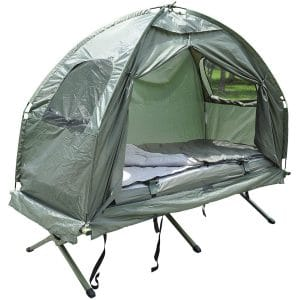 Outsunny-Portable-Camping-Cot-Tent