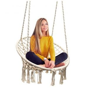 Sorbus Hammock Macrame Swing Chair