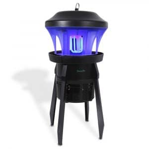 SerenaLife Waterproof Bug Zapper Electric Insect Killer