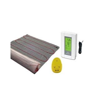 30 Sqft Mat, Electric Radiant Floor Heat Heating System