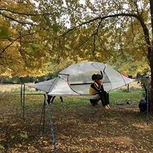 Skysurf Hanging 2 Person Tree Tent Triangular Double Hammock