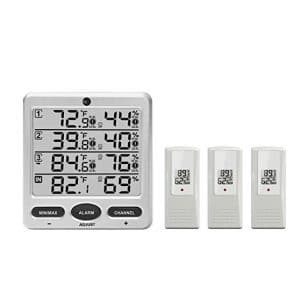 Ambient Weather WS-10 Wireless Indoor/Outdoor Thermo-Hygrometer