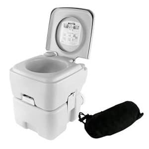 SereneLife Toilet Potty Seat - 5.3 Gallons Capacity
