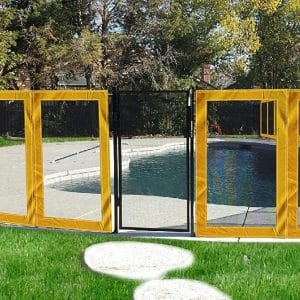 Superior Inflatables Pool Fence